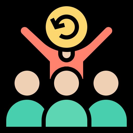 Icon of an Agile Team created by Eucalyp on Flaticon.com.