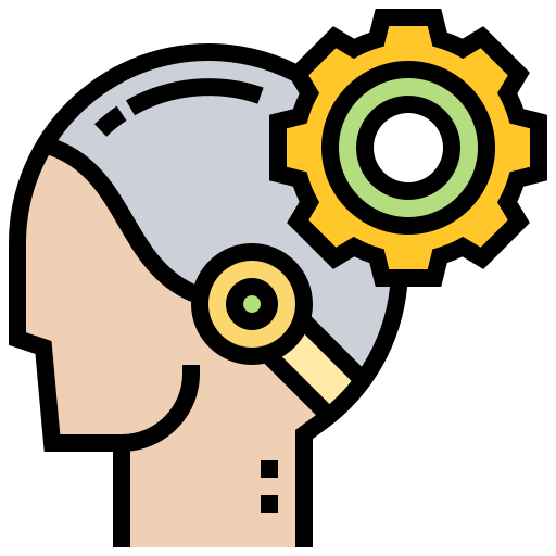Icon of a person using the latest technology created by Eucalyp on Flaticon.com.